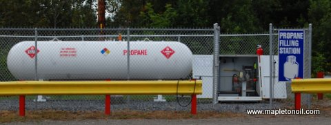 Mapleton Oil Propane Filling Station - Refill your barbecue tanks in Mapleton!
