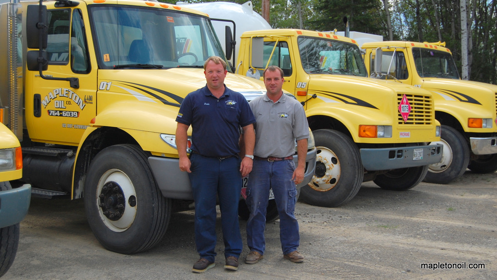 Dale and Tim Wood of Mapleton Oil
