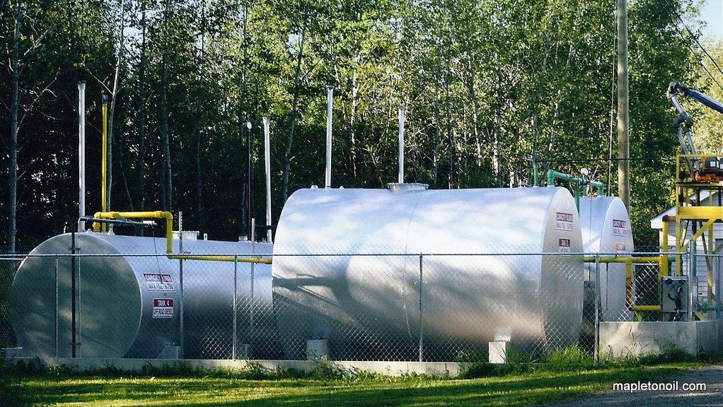 Mapleton Oil tanks